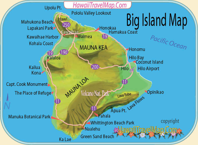 November 2015 – Hawaii Tourist Attractions Map